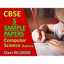 CBSE Sample Paper Class 12 Computer Science 2020 Python
