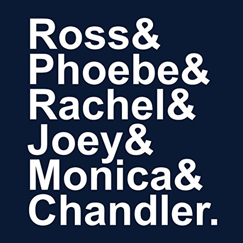 Friends Characters Women's Hooded Sweatshirt Navy blue
