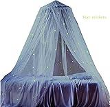 Moskitonetze mit Leuchten von LYH, Bett-Vorhang