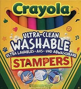 Crayola 58-8129 - 8 Rotuladores Estampadores Ultra Lavables , Modelos/colores Surtidos, 1 Unidad