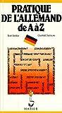 pratique de l allemand de a ? z janitza samson r?f34905