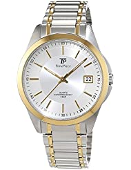 Time Piece Herren-Armbanduhr Sporty Analog Quarz Edelstahl TPGS-30305-41M