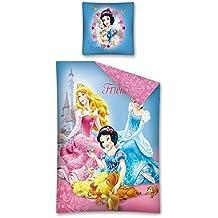 Funda nórdica Princesas Dim. 160x 200cm 100% algodón Disney