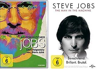 Steve Jobs Set (jOBS - Die Erfolgsstory von Steve Jobs & Steve Jobs - The Man in the Machine) - Deutsche Originalware [2 DVDs]