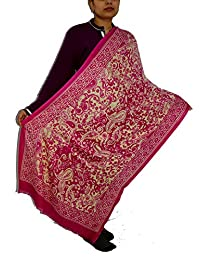 Sanvitta's Paisley Print Viscose Women's Stole Shawl Wrap Dupatta - B078TH1TZ4