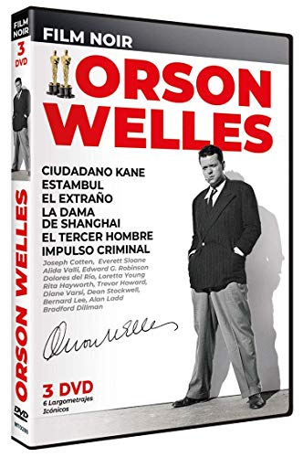 Citizen Kane + Journey Into Fear + The Stranger + The Lady From Shanghai + The Third Man + Compulsion (Spanish Release) Orson Welles Film Noir