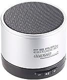 auvisio Handy Lautsprecher: Mobiler Aktiv-Lautsprecher mit Bluetooth 2.1, Metallgehäuse, 4 Watt (Mini Lautsprecher, Bluetooth)