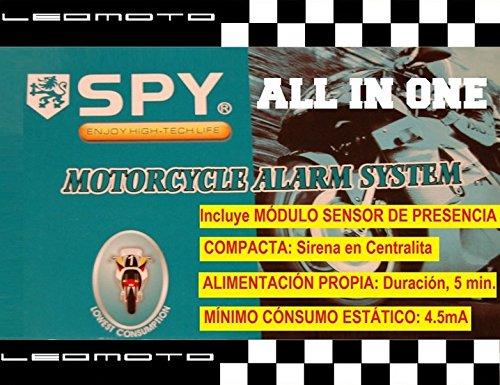 SPY Motorrad-Alarm Kompakt; Eigenantrieb
