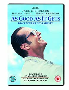 As Good as It Gets [DVD] (1997)