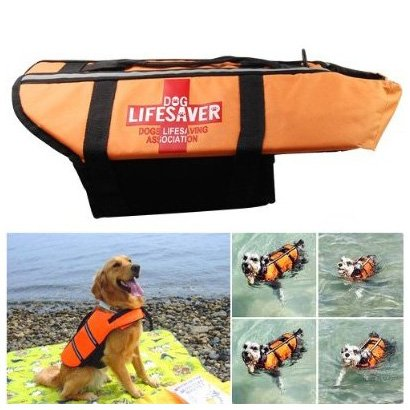 TOOGOO(R) Schwimmweste Floss Jacket Rettungsweste Erhalter fuer Hund Haustier von Groesse M