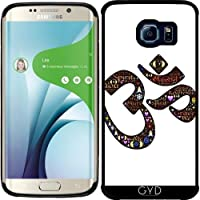 Custodia in silicone per Samsung Galaxy S6 EDGE (SM-G925) - Namaste Indù Indiano by WonderfulDreamPicture - Saluto Edge Design