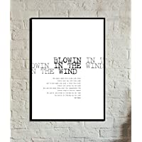 Stampa poster 50×70 cm Blowin in