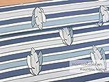 Mamasliebchen Jersey-Stoff Oskar & fiep - Feathers #Smoky