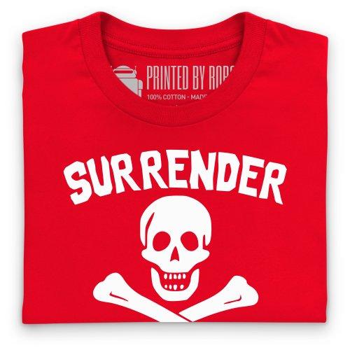 Surrender T-Shirt, Herren Rot