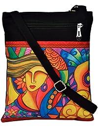 All Things Sundar Womens Sling Bag / Cross Body Bag - S02 - 04