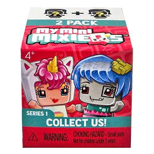 Preisvergleich Produktbild Mattel DVT74 MyMiniMixieQs 2-er Pack Blindbag, Sortiert