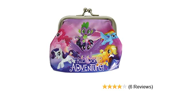 MY LITTLE PONY COIN PURSE WITH METAL CLASP POUCH BAG PVC KIDS GIRLS