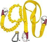 Automatische Rettungsweste 3Schleppleine Doppel elast 3mousq Securite Unisex Erwachsene, Gelb