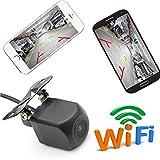 GOFORJUMP WiFi caméra de recul caméra arrière Vue de la caméra Mini Corps tachygraphe imperméable à l'eau pour iPhone et Android