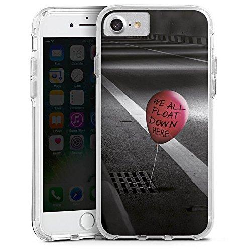 Apple iPhone 6s Bumper Hülle Bumper Case Glitzer Hülle Clown Luftballon Es Bumper Case transparent