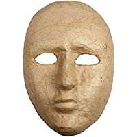 Creativ - Maschera in cartapesta, 16 cm