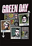 GREEN DAY FLAGGE FAHNE POSTERFLAGGE UNO DOS TRE