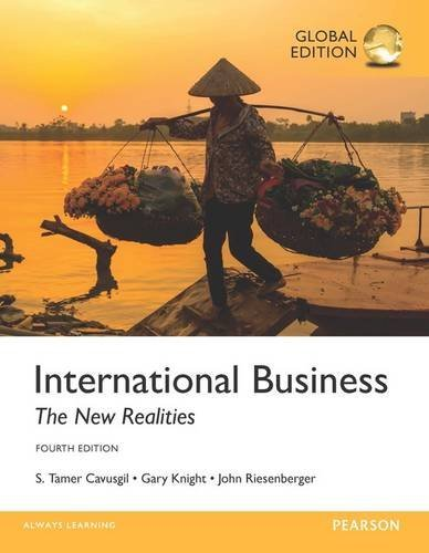 International Business: The New Realities, Global Edition