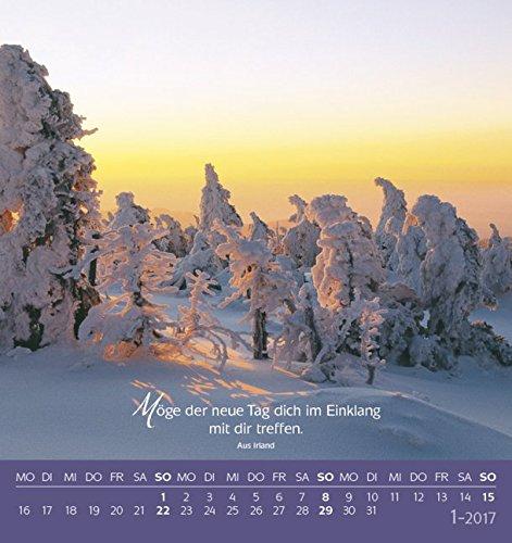 Livres Couvertures de Schön, dass es dich gibt! 2017: aufstellbarer Postkartenkalender