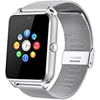 Fantime Smart Watch Bluetooth Orologio da polso supporto SIM Card/Scheda