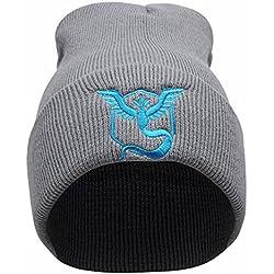 Pokemon Go - Berretto in maglia - Uomo Blau Uni