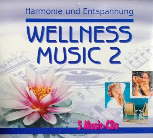 "5er Set CD ""HARMONIE UND ENTSPANNUNG WELLNESS MUSIC 2"" für Wellness und Entspannung, 5CD´s, Recreation - Energy - Chillout - Balancing - Especially for You"