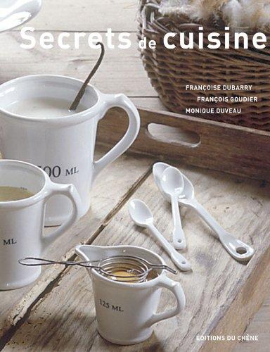 Secrets de cuisine (Ancien prix éditeur : 29,90 euros)