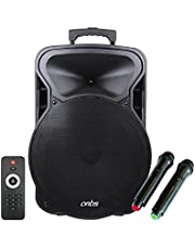 Artis BT915 Outdoor Bluetooth Speaker with USB/FM/TF Card Reader/AUX in/Mic in Portable Bluetooth Speaker