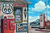 Posterlounge Alu Dibond 180 x 120 cm: Coke Machine von Georg Huber