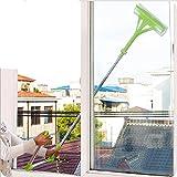 Balais laveurs,Éponge de nettoyage laveurs pliable télescopique balai nettoyant pour Vitre by LHWY