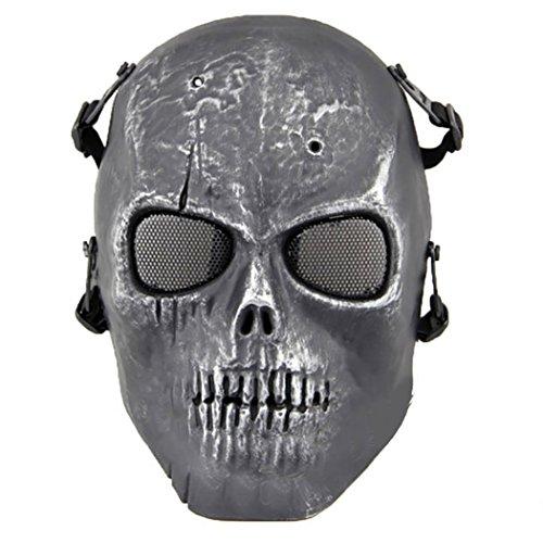 Softair Maske Totenkopf Schädel Vollschutzmaske Militär