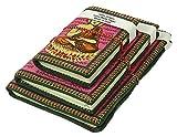 Urbankrafted Lord Ganesha handgemachte schöne Tagebuch, Recyclingpapier Tagebuch, Hindu-Gottheit, leere Zeitschriften, indische Zeitschriften