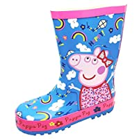 Peppa Pig Girls Welly Boots/Wellingtons (8 UK Child)