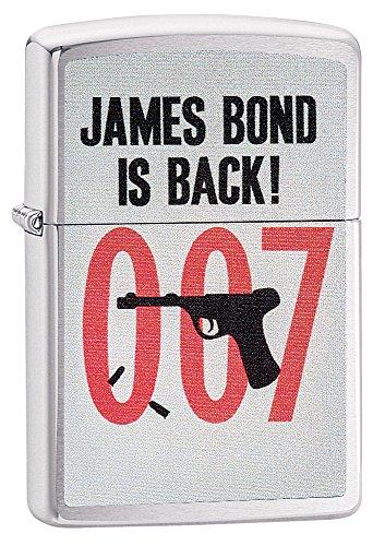 Preisvergleich Produktbild Zippo James Bond Is Back Pocket Lighter