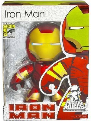 Mighty Muggs Marvel Sdcc Exclusive > Iron Man Figure Signed By Joe Quesada!