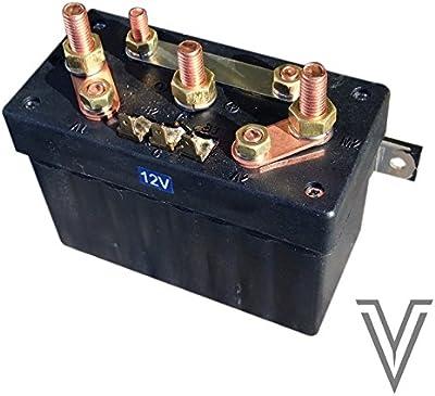 CAJA DE RELES 3 CABLES 12V 400W