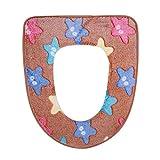 Benbroo WC Pad sedile cuscino Cartoon cuscino autunno e inverno coprisedile WC WC Coffee