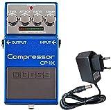 Boss CP-1X Kompressor Effektgerät für Gitarre + KEEPDRUM Netzteil 9V