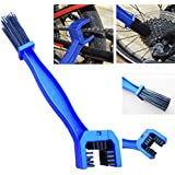 AOW Attractive Offer World Bike Chain Cleaning Brush Tool Multi-purpose Motorcycle Chain Cleaner Tool For Both Motorcycle And Cycle Chain Cleaner Washer, Cleans Quickly And Easily For Road Bike (Blue)