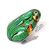 Jouets Enfants Vintage Clockwork sautant grenouille en métal Wing-up en métal jouets comme cadeaux