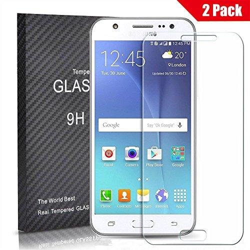 [2 Unidades] Samsung Galaxy J5 2015 Protector Cristal Templado, Outera Protector Pantalla...