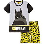 LEGO Batman Boys Short Sleeve Pyjama - Grey