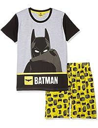 LEGO Batman Chicos Pijama Mangas Cortas - Gris