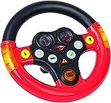 BIG- Multi-Sound Volante Toy Parts, Colore Rosso/Nero, 800056459