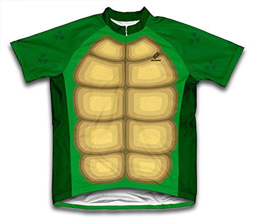 Schildkröte Short Sleeve Radfahren Jersey für Herren, Herren, Turtle Shell, XXX-Large